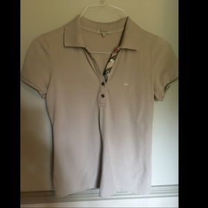 Burberry London Tan Women's Polo